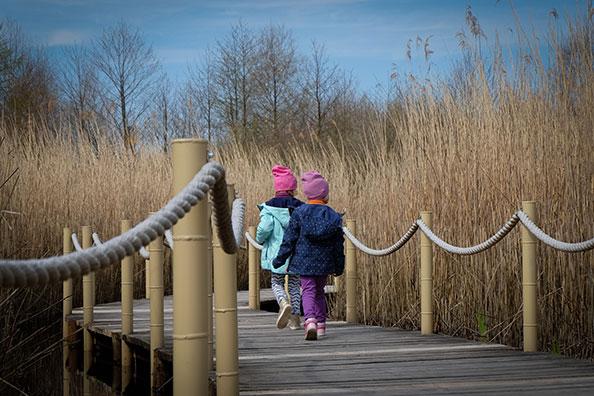 Über Krefeld für Kinder